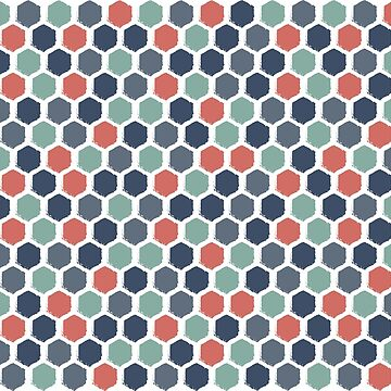 Sweet hexagons by LeChardonneret