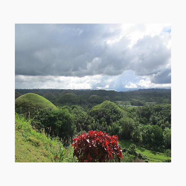 Chocolate Hills of Bohol Photographic Print