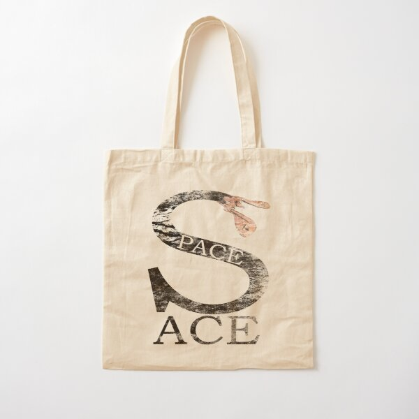 SPACE ACE (DISTRESSED) Cotton Tote Bag