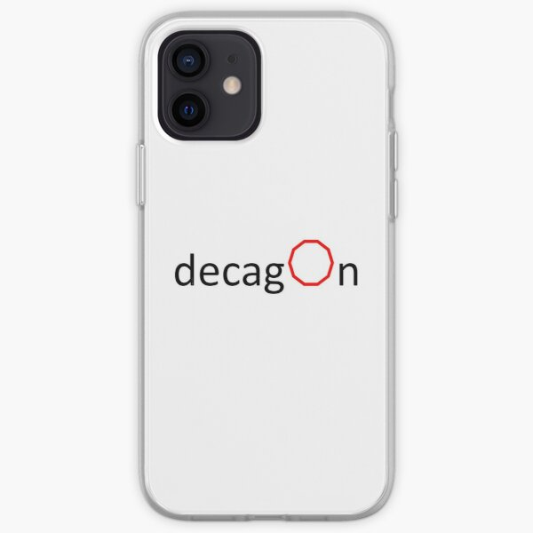 Self-explanatory Terms - Decagon iPhone Soft Case