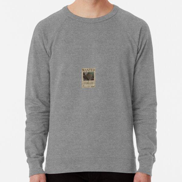 """""""Zoro Wanted"""" Anime Sticker  Lightweight Sweatshirt"""