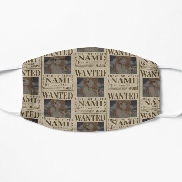 """Nami Wanted"" Anime Sticker  Flat Mask"