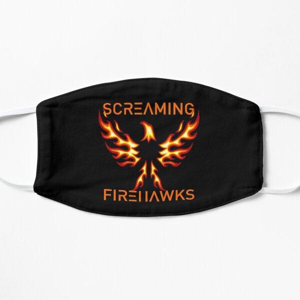 Minimalist Screaming Firehawks For The Expanse Flat Mask