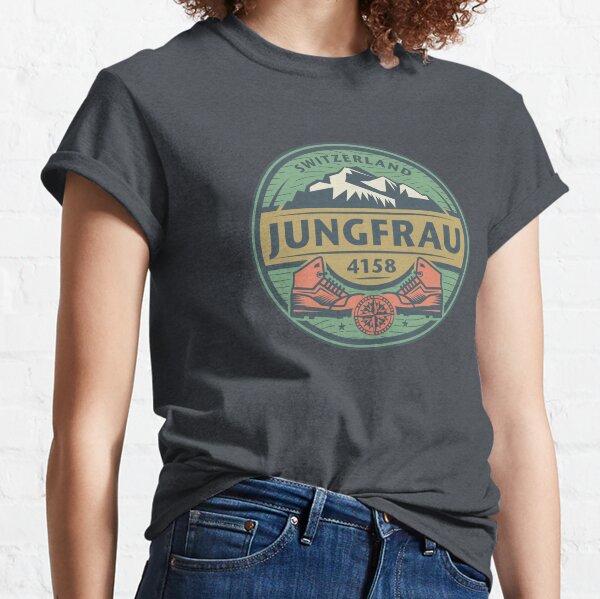 Jungfrau, Switzerland Classic T-Shirt