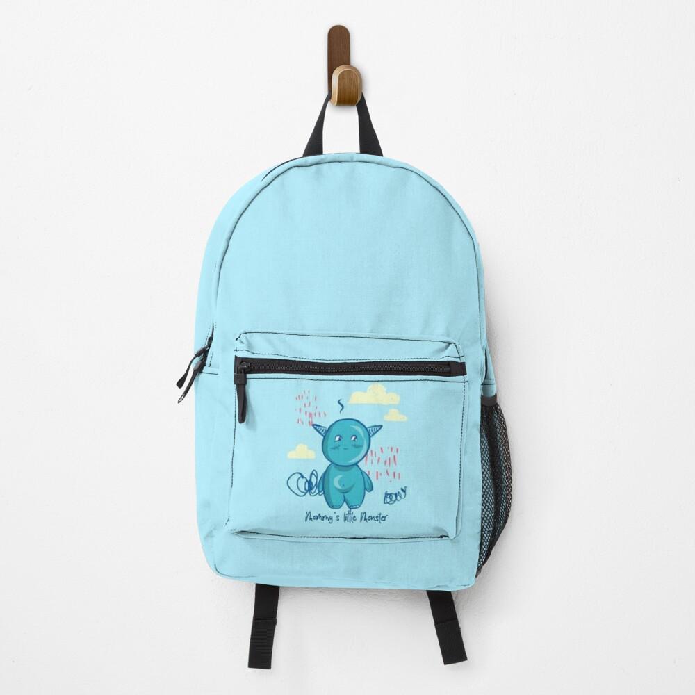 Mommy's little monster Backpack