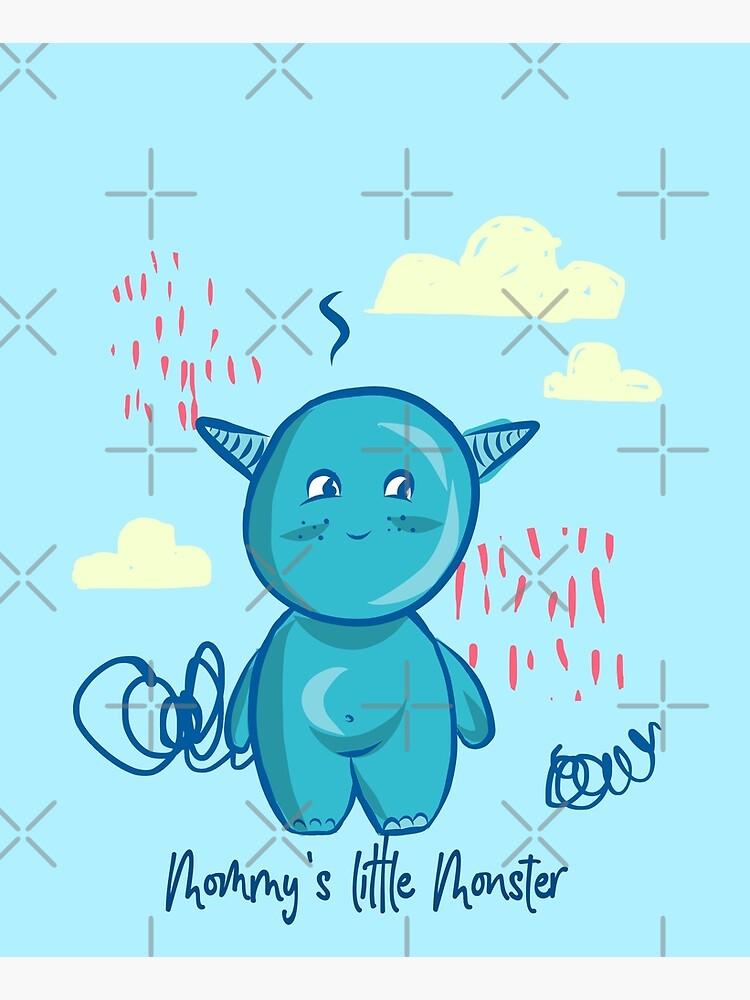 Mommy's little monster by WendyLeyten