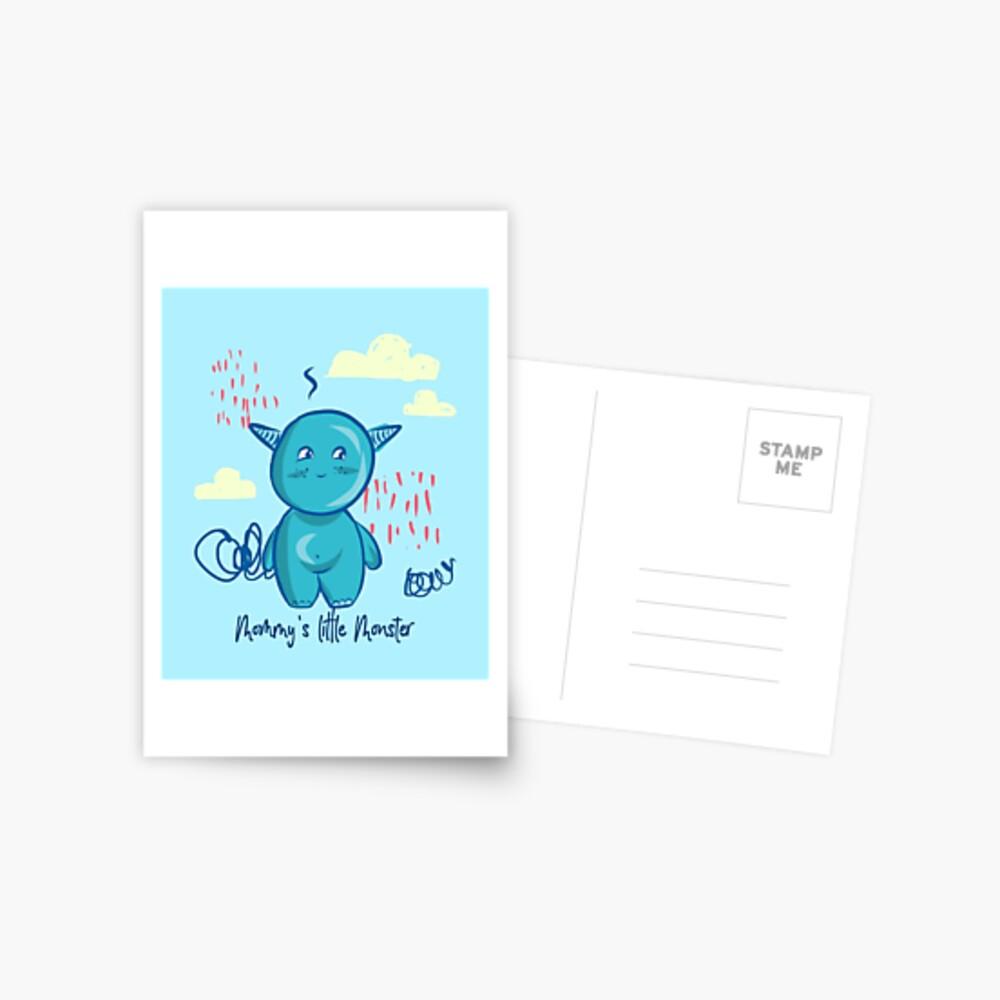 Mommy's little monster Postcard