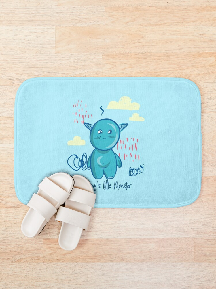 Alternate view of Mommy's little monster Bath Mat