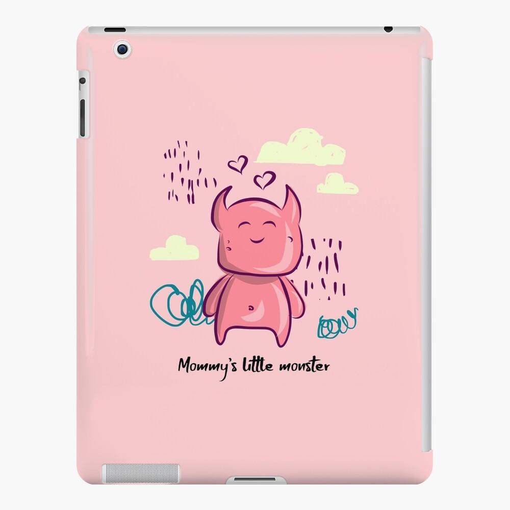 Mommy's little monster iPad Case & Skin