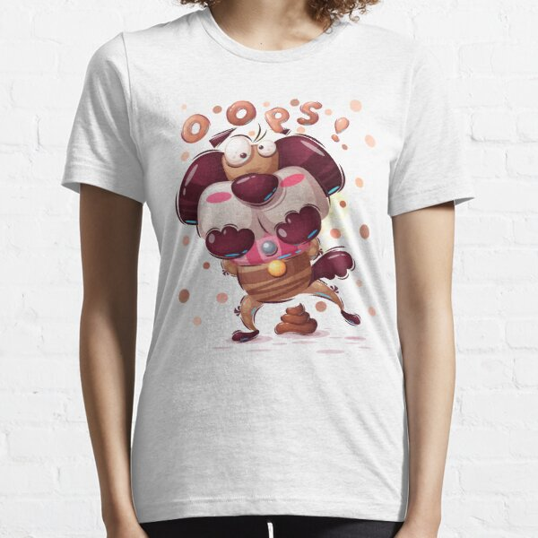 Naughty Doggy Essential T-Shirt