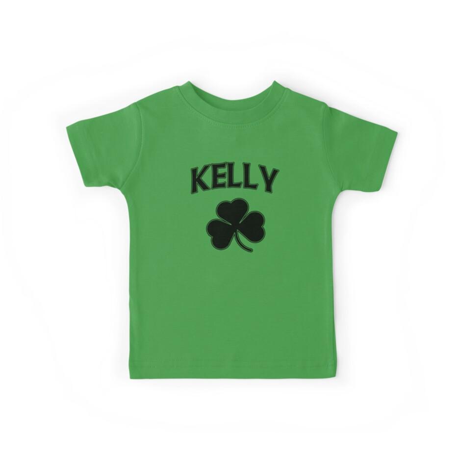 Irish Kelly Heritage Shamrock by stpatricksday