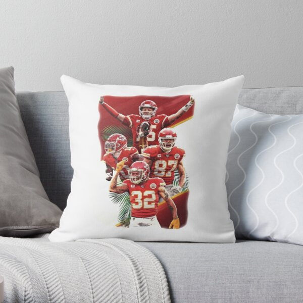 Kansas City Chiefs - Super Bowl Champs  Throw Pillow