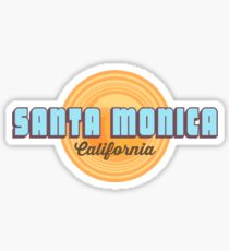 Santa  Monica. Sticker