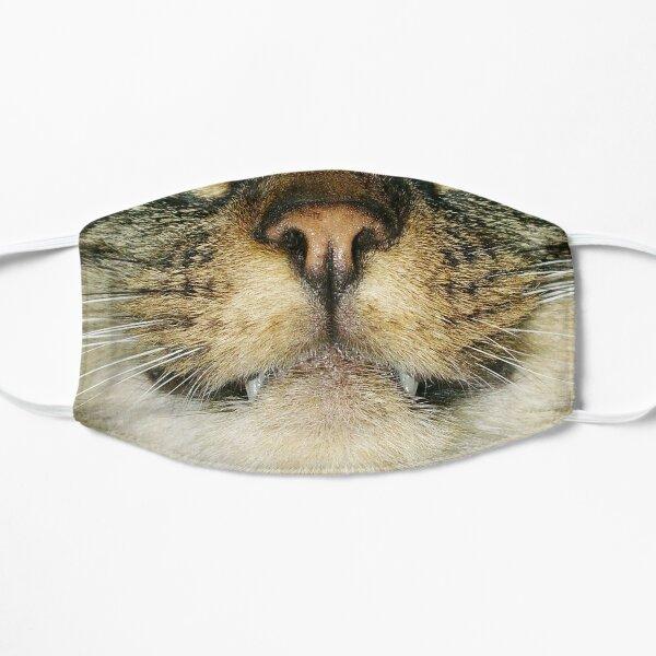 Grinning cat photo 1 Flat Mask