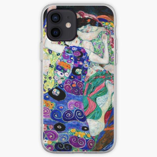 Gustav Klimt - La Virgen Funda blanda para iPhone