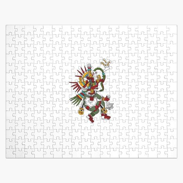 #Quetzalcoatl #featheredserpent #worship #Feathered Serpent Teotihuacan century Mesoamerican chronology veneration figure Mesoamerica Mexican religious center Cholula Maya area Kukulkan Jigsaw Puzzle