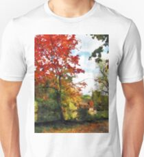 Distant Mill  in Autumn T-Shirt