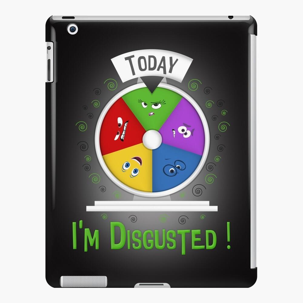 Estoy disgustado Funda y vinilo para iPad