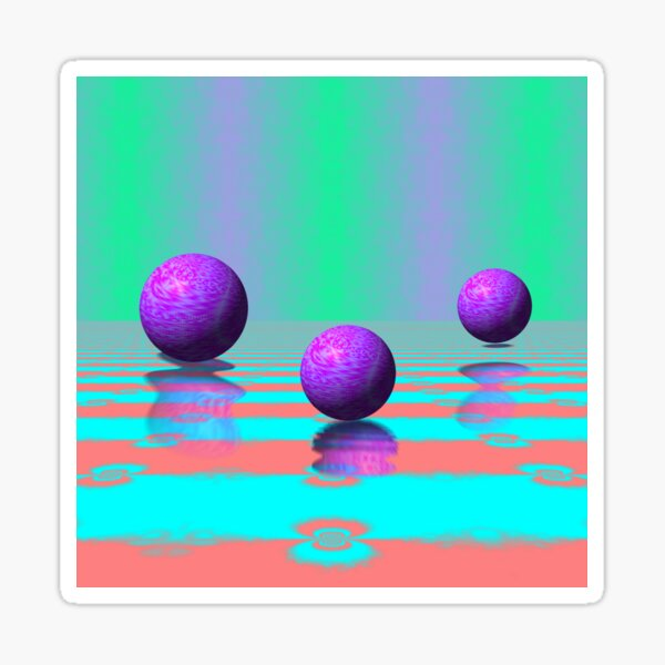 Cyber Deco I Sticker