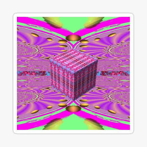 Cyber Deco II Sticker