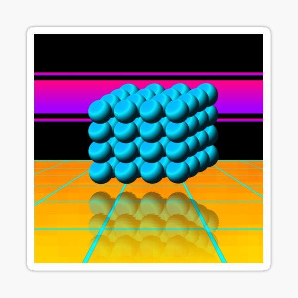 Cyber Deco III Sticker