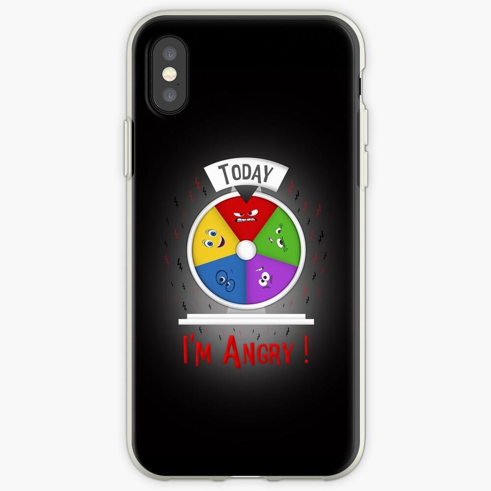 Estoy enojado Funda y vinilo para iPhone