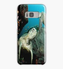Turtle in the Ocean Samsung Galaxy Case/Skin