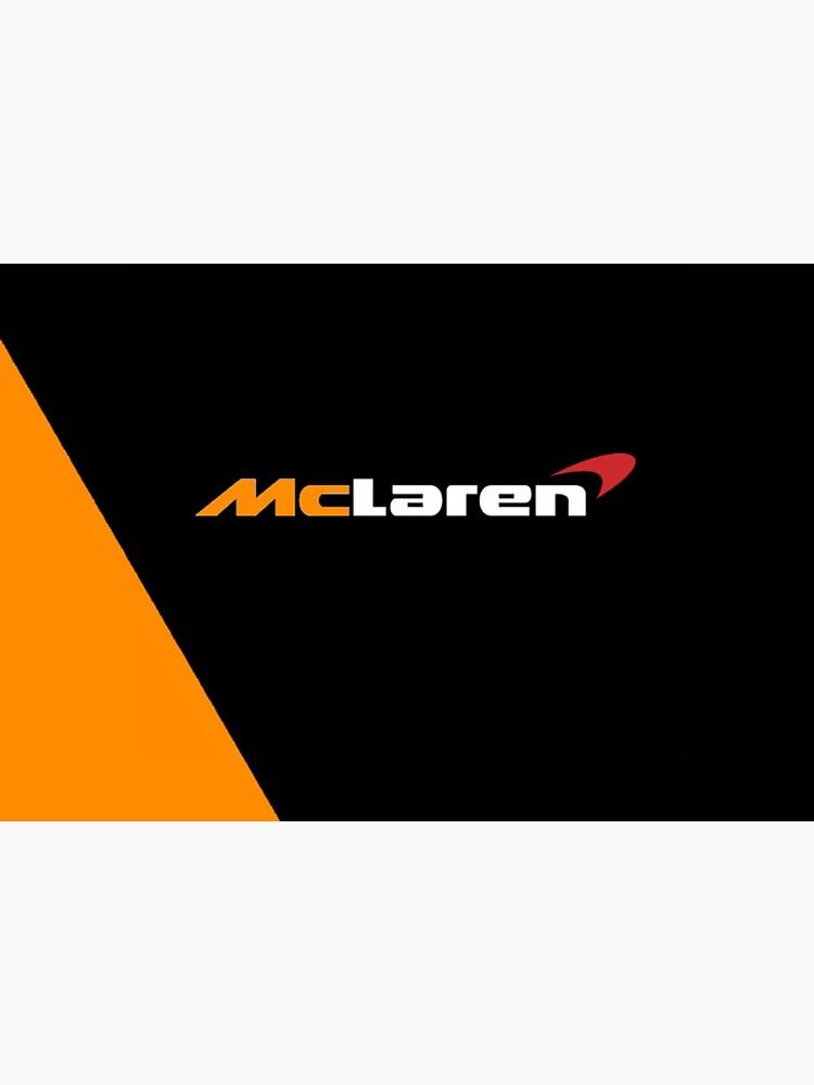 «Création du logo McLaren Formula One F1 noir et orange» par Gnk47