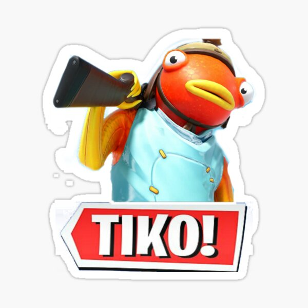 Tiko, funny Sticker
