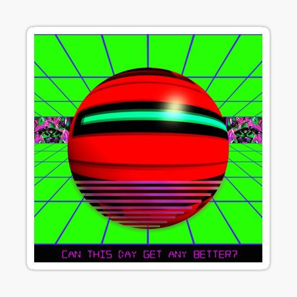 Cyber Deco V Sticker