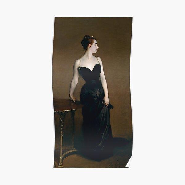 John Singer Sargent - Portrait of Madame X (1884) Poster