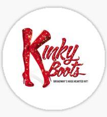 Kinky Boots Logo Sticker