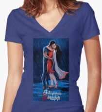 Valentine For Girlfriend Online Shopping Women S Fitted V Neck T