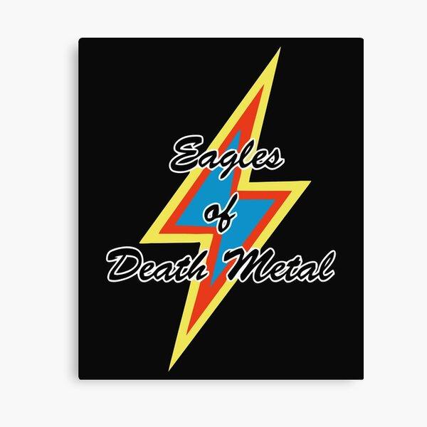 Eagles of Death Metal Peace Love Death Metal 87 Canvas Print
