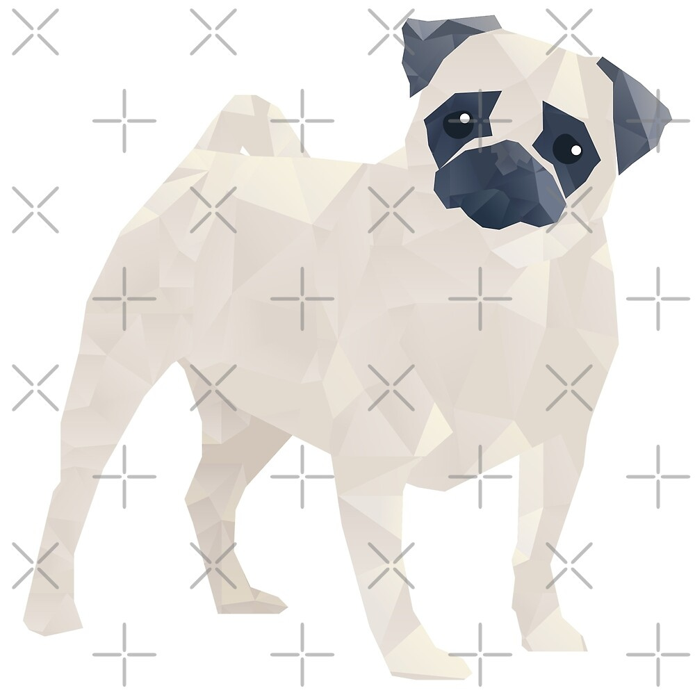 The Polygon Pug by depresident