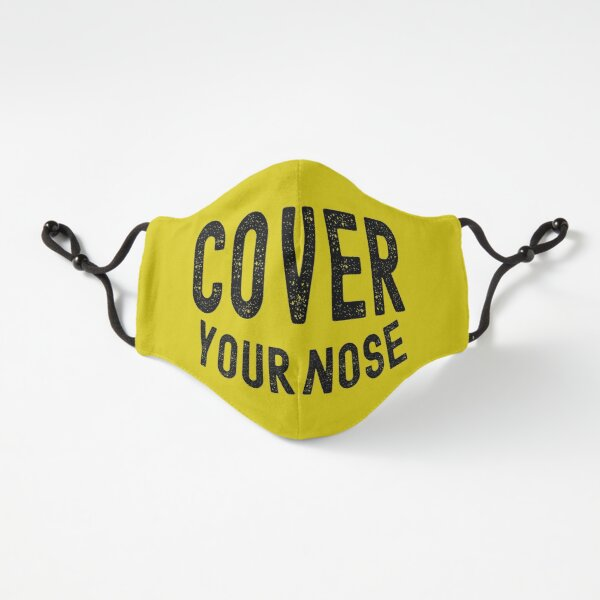 cover your nose Fitted 3-Layer