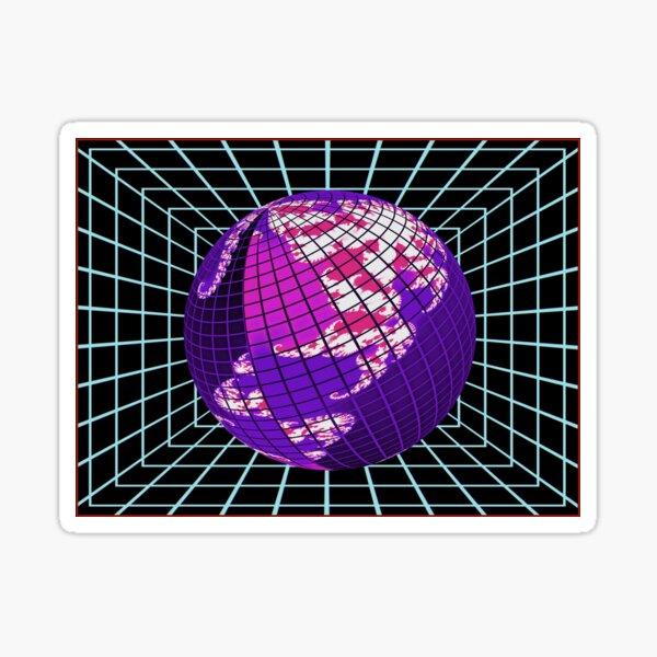 Cyber Deco IX Sticker