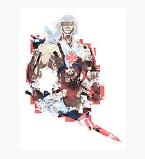 Abstract He-Man Photographic Print