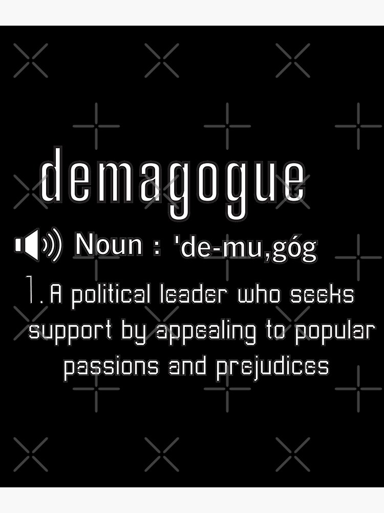 what is the meaning of demagogue