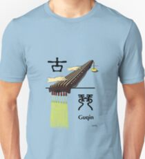Guqin (Ancient Chinese musical instrument) series 3 Unisex T-Shirt