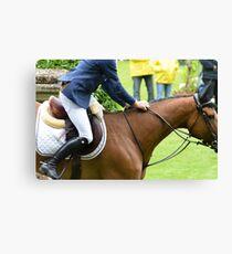 Equestrian Canvas Print
