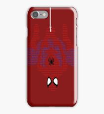 Spiderman Typography iPhone Case/Skin