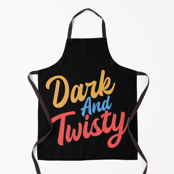 Dark and twisty sticker Apron