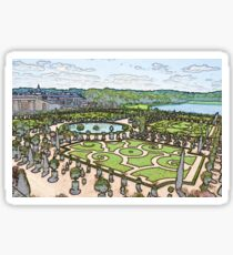 Versailles France Sticker