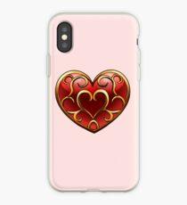 Vinilo o funda para iPhone Skyward Sword Heart Container