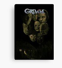 Don't Panic, I'm a Grimm.... Canvas Print