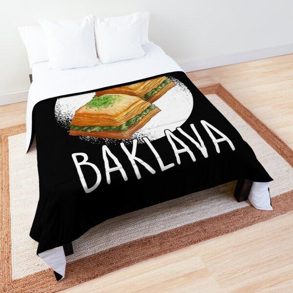 Sweet like baklava Turkey Greece gift Comforter