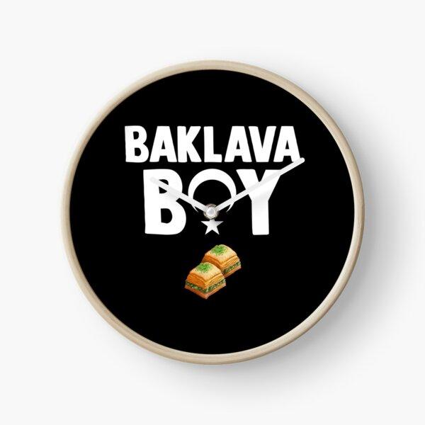 Turkey Baklava Antep Baklavasi Gift for Men Clock