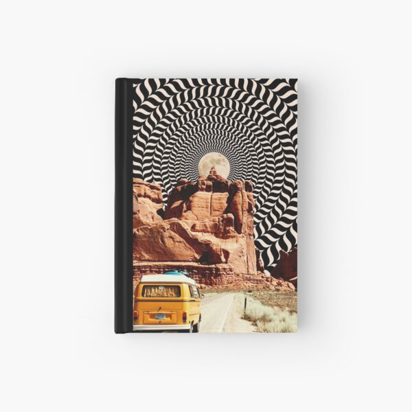 Illusionary Road Trip Hardcover Journal