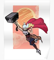 Lady Thor  Poster